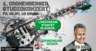 1. Cronenberger Studiokonzert
